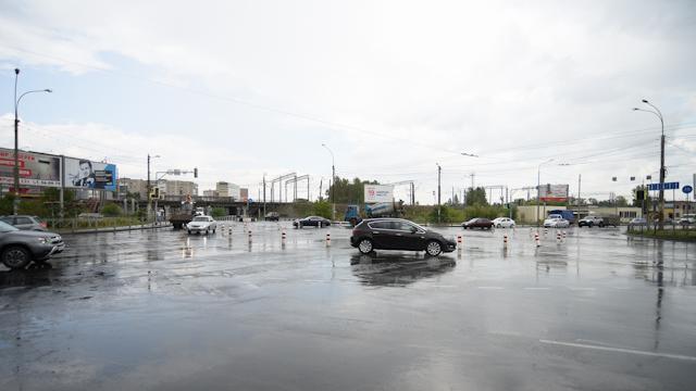 До конца года расширят кольцо на пересечении улиц Конева и Можайского в Вологде