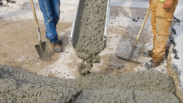 Рециклированный бетон раствор готовый цементный 1 2