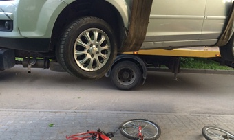 дтп ford сбил велосипедиста череповец